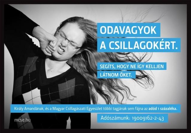 Kérkük, támogassa a Magyar Csillagászati Egyesületet!