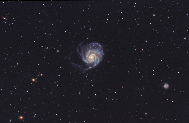 Az M101 Klacsány Imre felvételén.