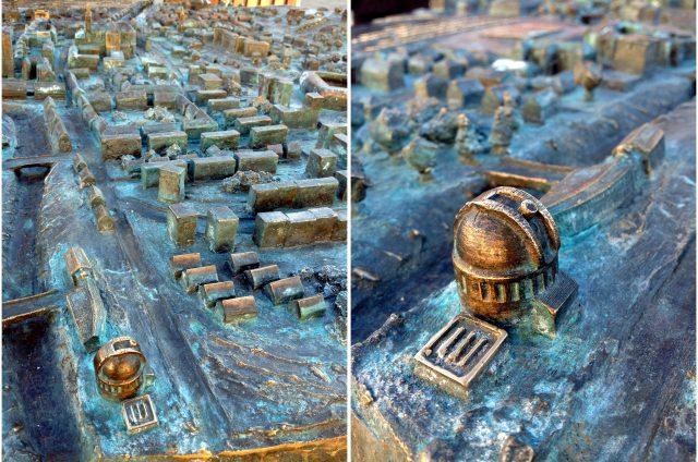 Szombathely-városmakett-ELTE-GAO-kupola