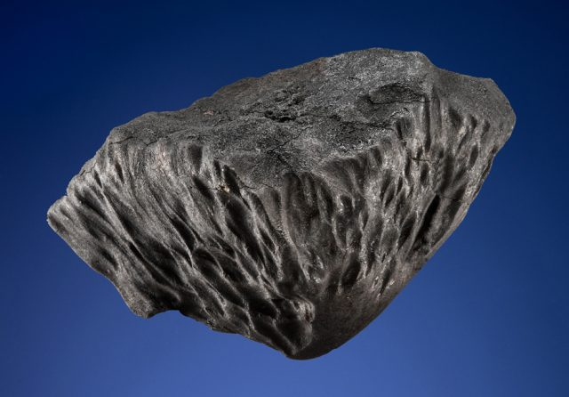 Singular oriented meteorite from the Chelyabinsk Fireball of Feb