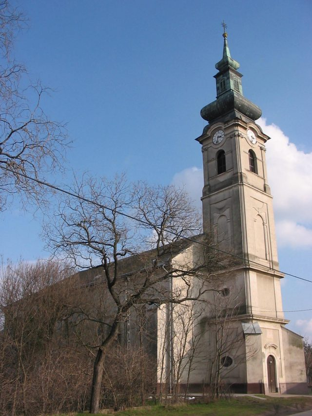 Solt református temploma